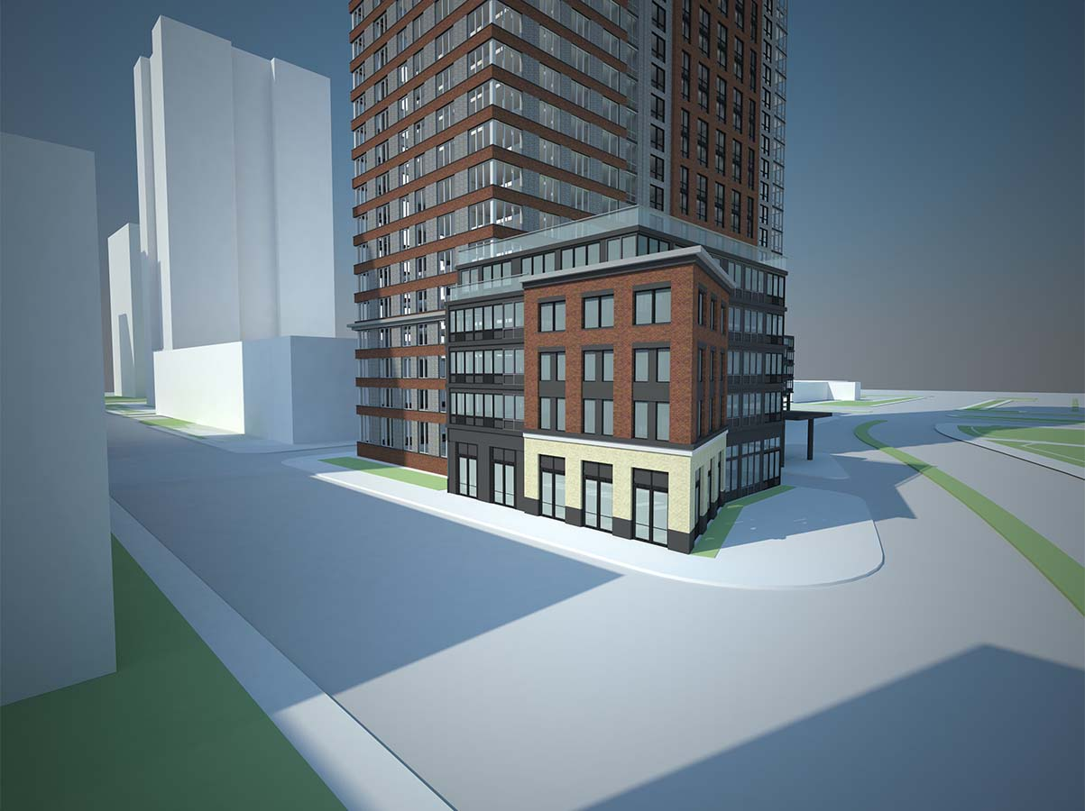 75 Park Lane South, rendering by Marchetto Higgins Stieve