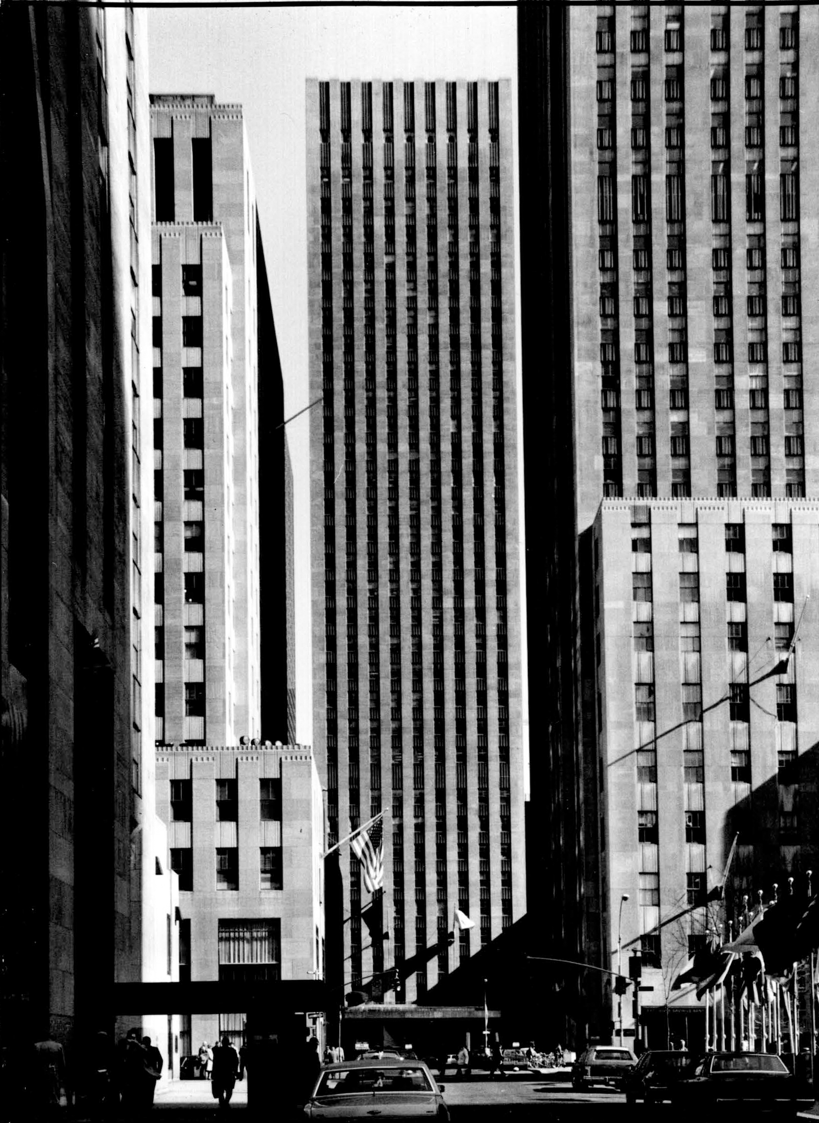 Archival Photo Of 75 Rockefeller Plaza Credit LPC