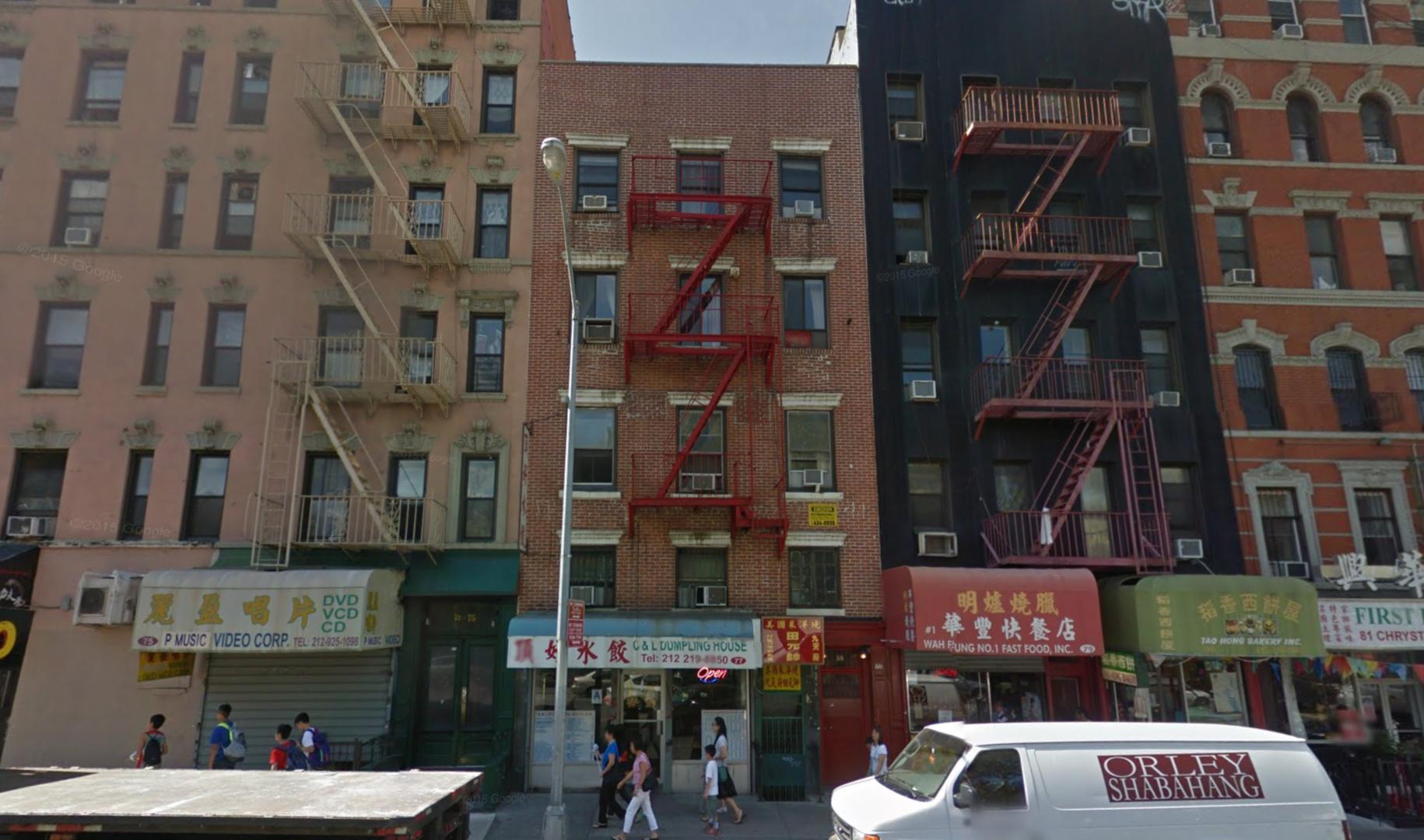 77 Chrystie Street, image via Google Maps