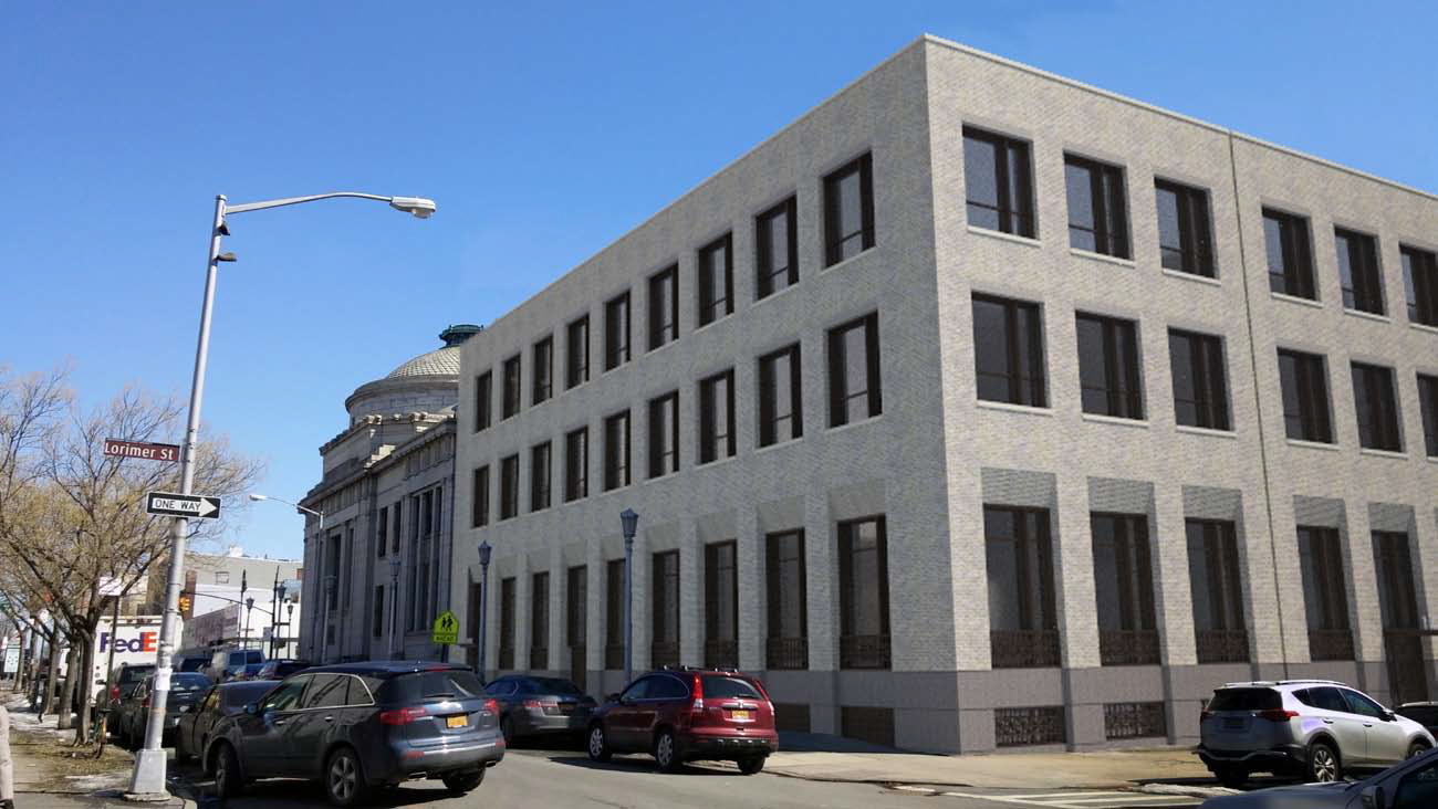 Greenpoint Savings Bank building annex, 807 Manhattan Avenue, proposed condition