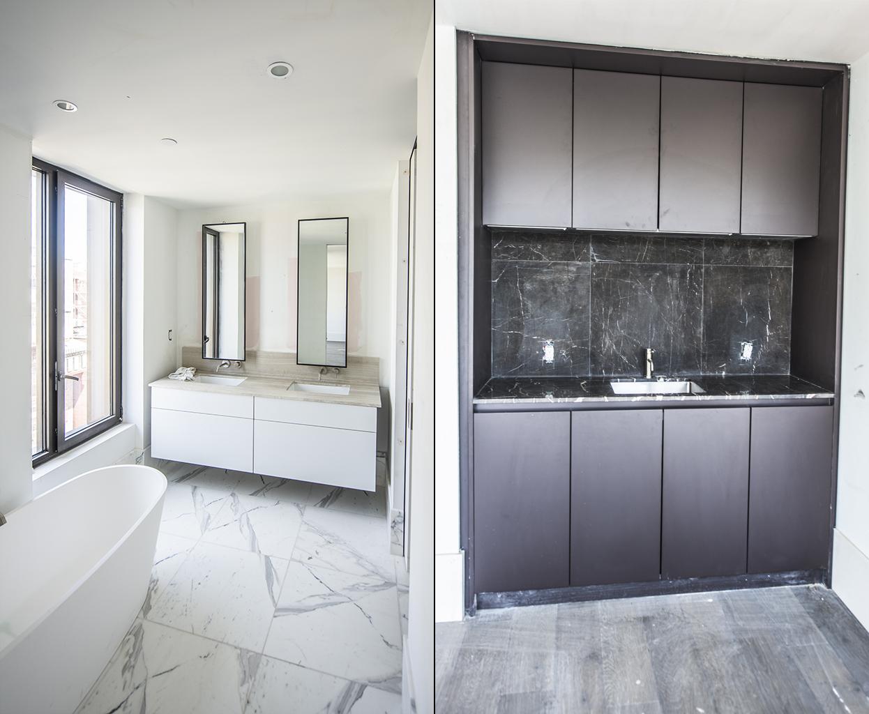 Oosten bathroom and kitchen
