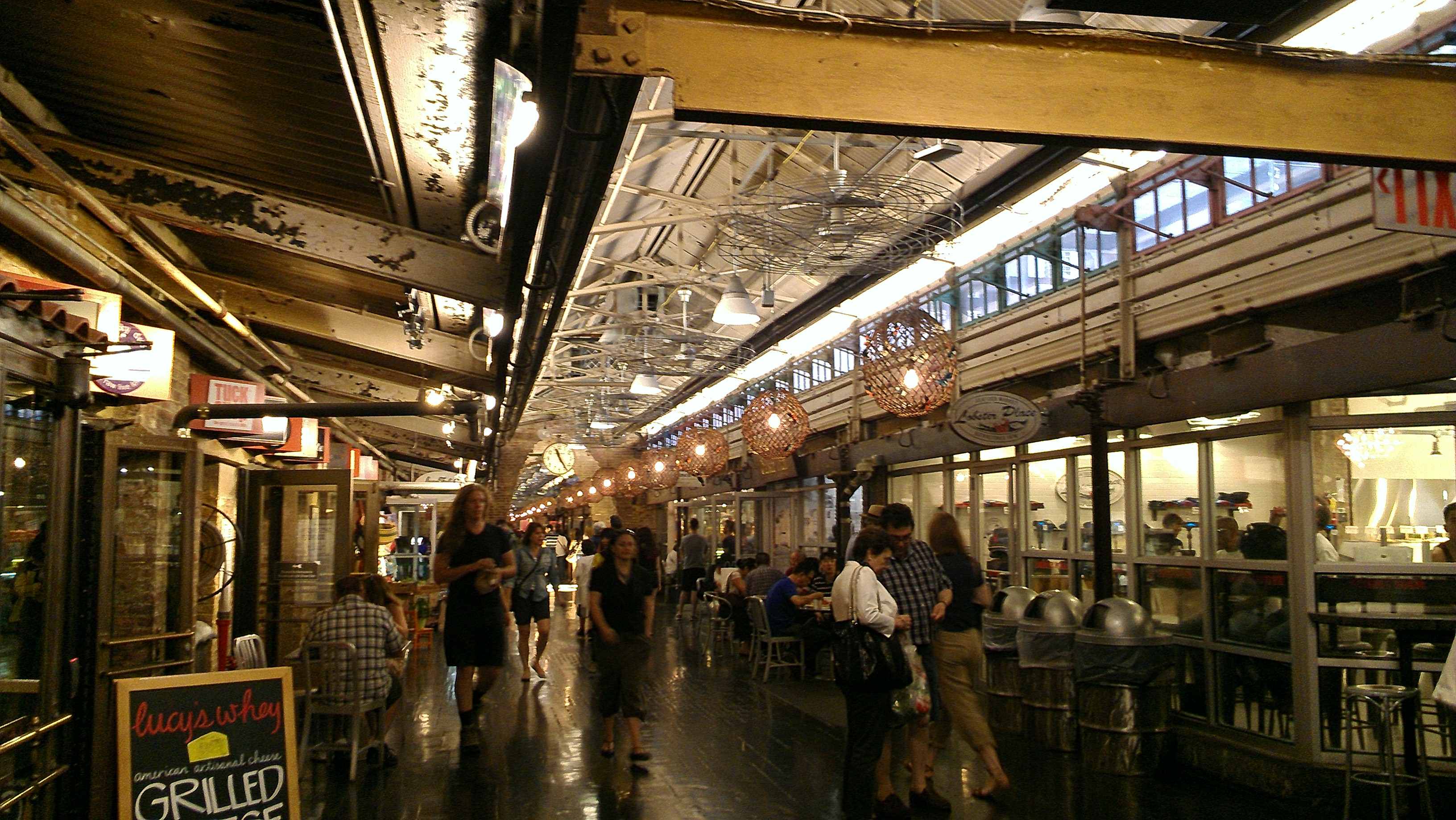 jamestown converting basement of chelsea market into retail corridor