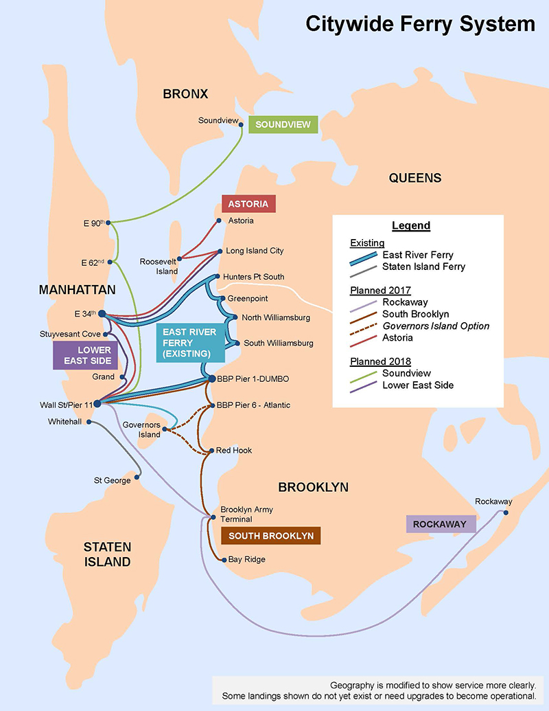 Citywide Ferry Service