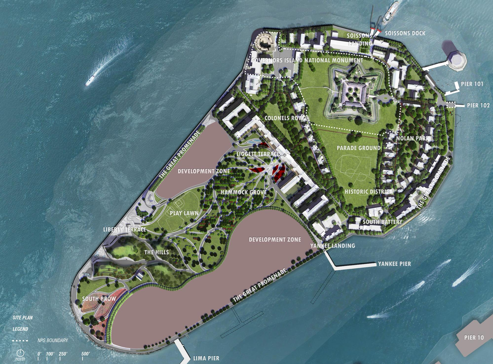 Governors Island Master Plan