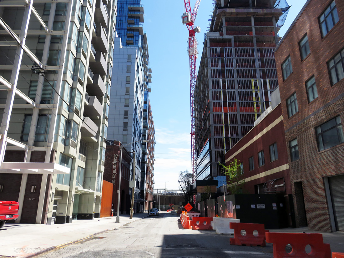 Purves Street. Looking south.