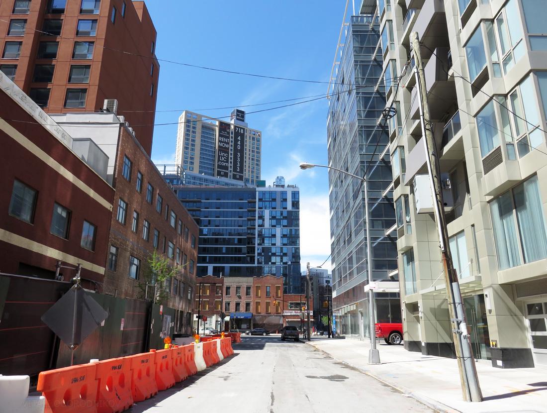 Purves Street. Looking north