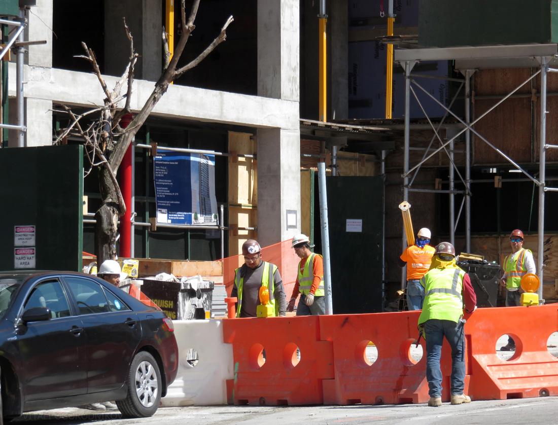 Construction at 44th Drive