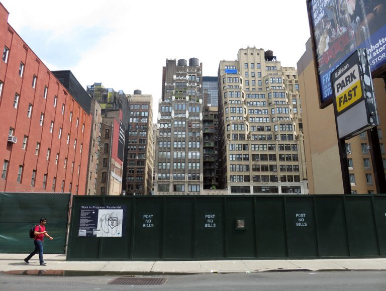 241 West 28th Street. Looking north. Photos by the author.