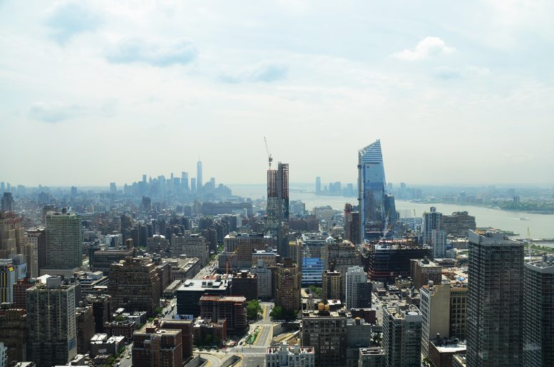 South view from the 62nd floor of Manhattan View at MiMA. All photographs by the author
