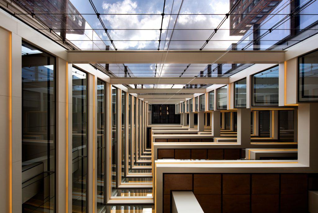 10 Hudson Yards, Coach atrium view (c) Steve Freihon for Related-Oxford