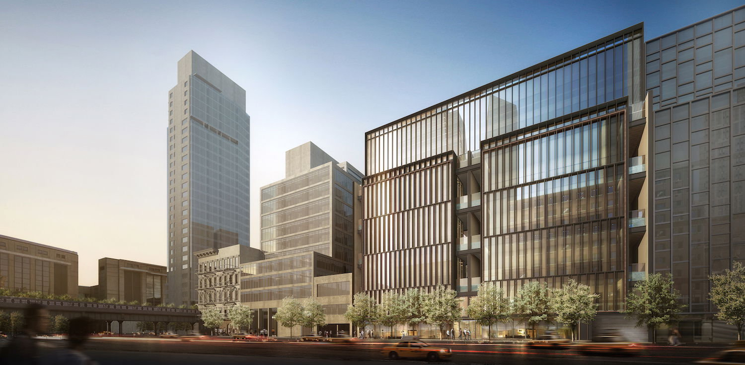 Soori High Line facade. All renderings by SCDA Architects