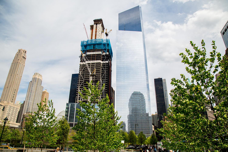 3 World Trade Center and 4 World Trade Center. Credit: Joe Woolhead
