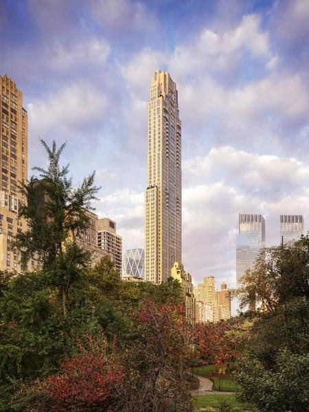 Rendering of 220 Central Park South. Via Vornado Realty Trust