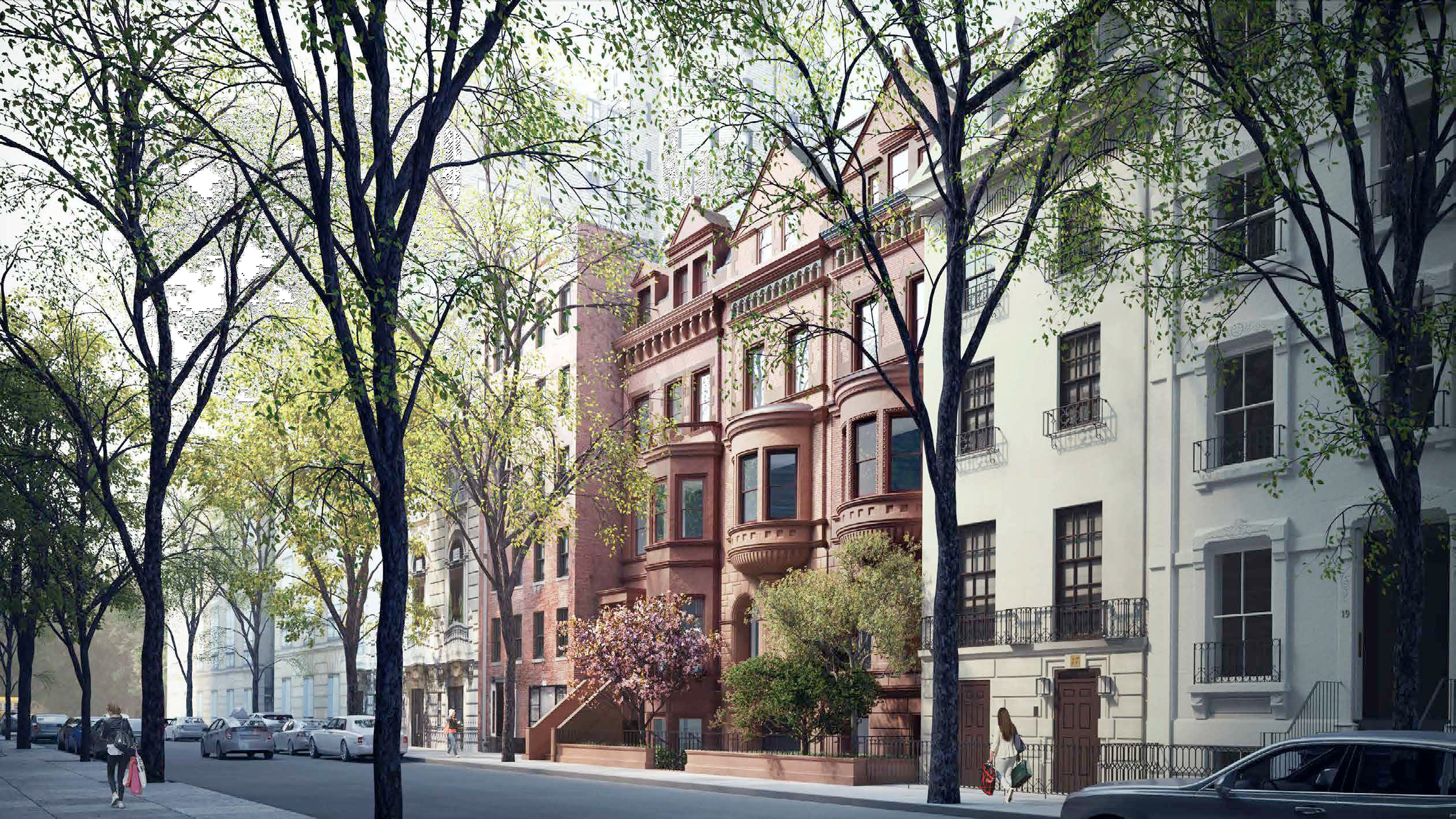 Previous proposal for 11-15 East 75th Street