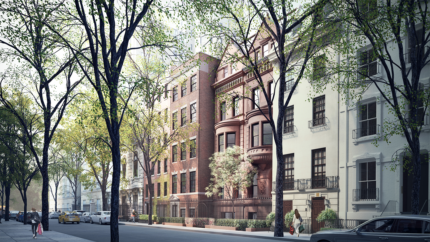 Current proposal for 11-15 East 75th Street