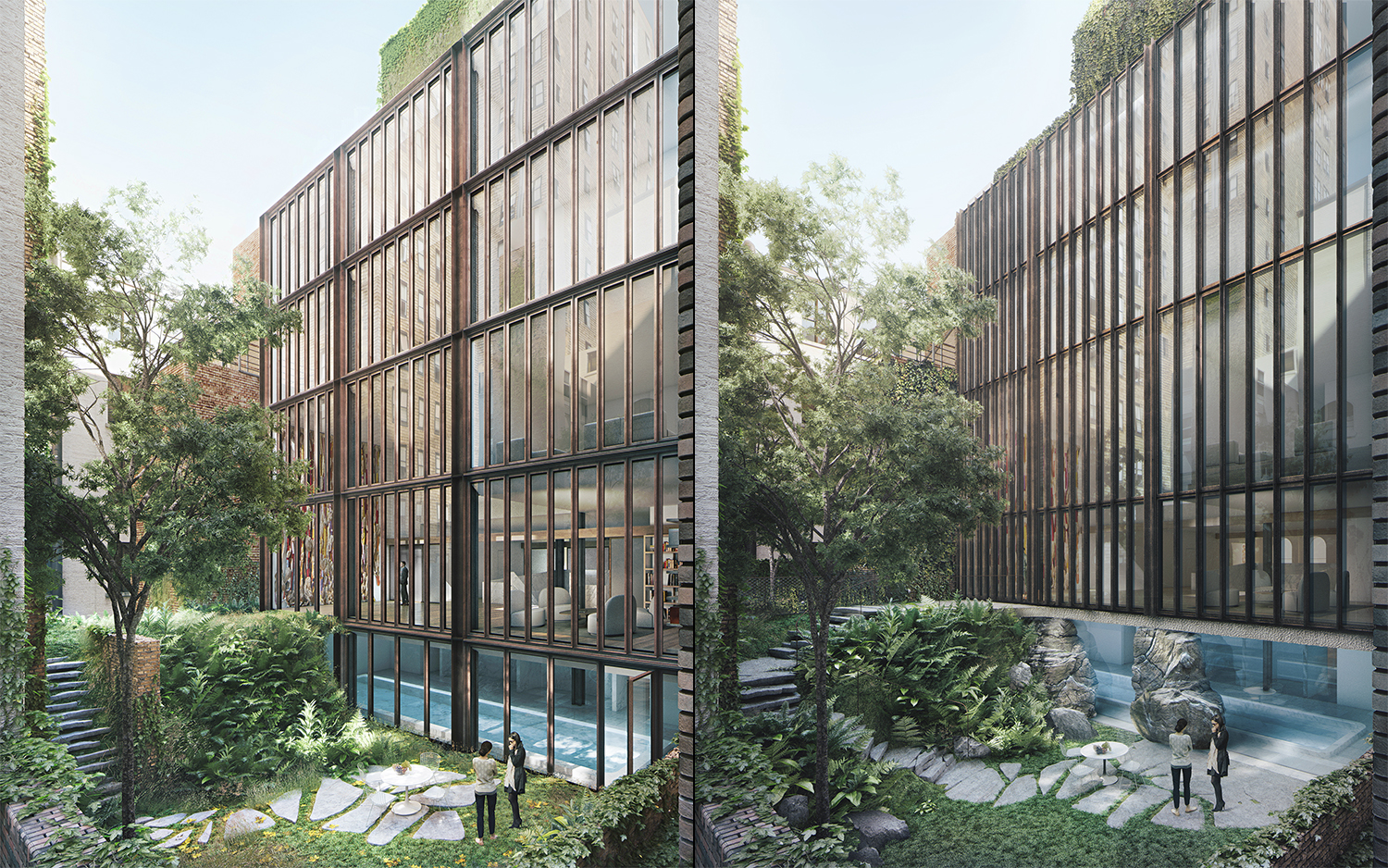 Previous and current proposals for 11-15 East 75th Street