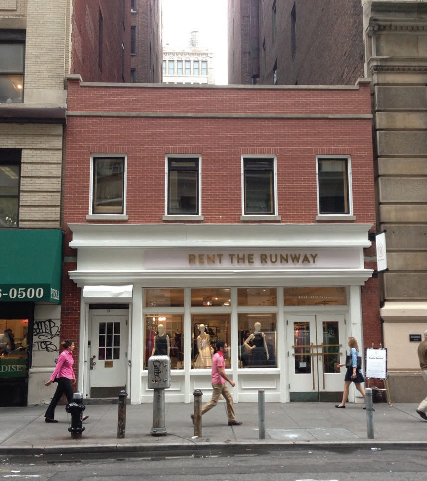 Existing condition at 16 West 18th Street