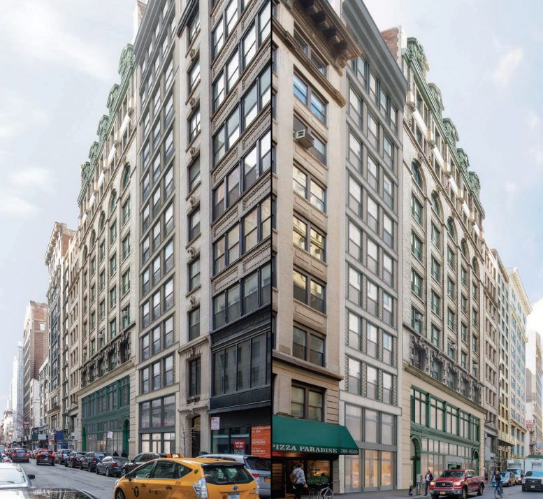 Proposal for 21 West 17th Street and 16 West 18th Street