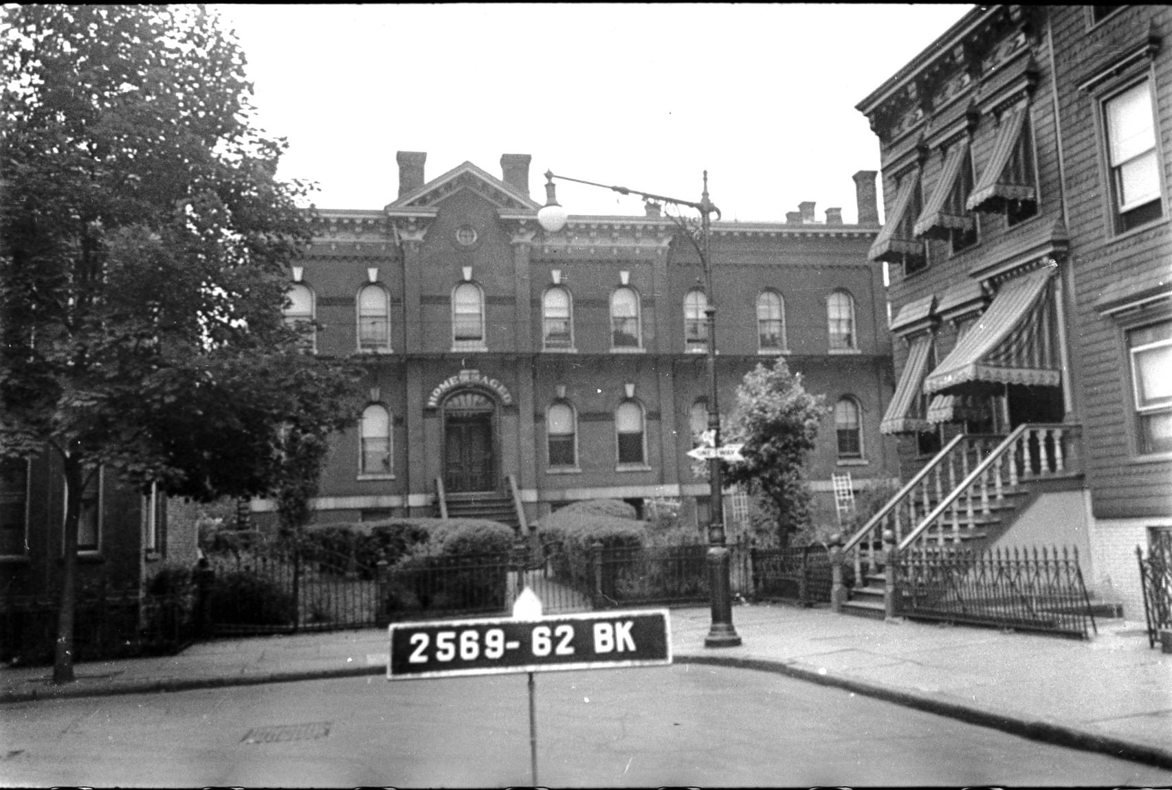 Undated tax photo showing 218 Guernsey Street on the corner