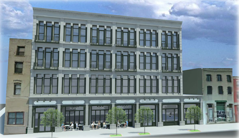 661 Driggs Avenue, rendering by T.F. Cusanelli & Filletti Architects