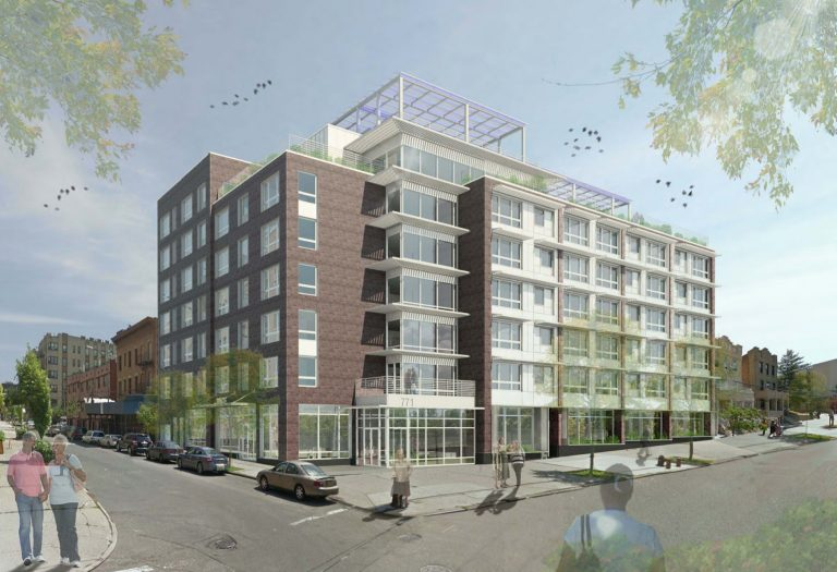 775 Crotona Park North. Rendering via Welcome2TheBronx