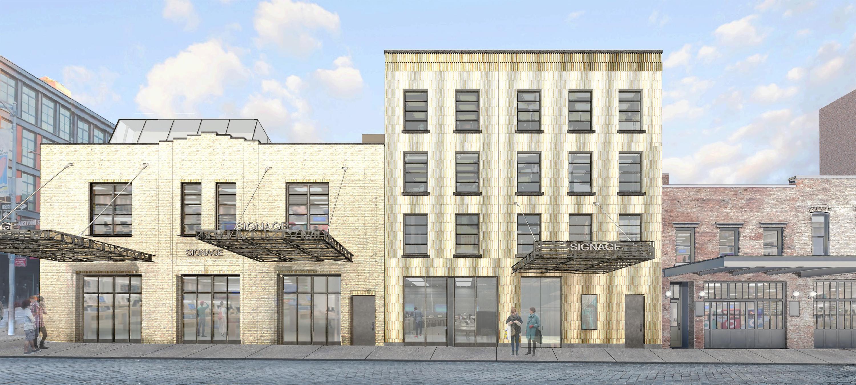 Previous proposal for 46-48 Gansevoort Street and 50 Gansevoort Street