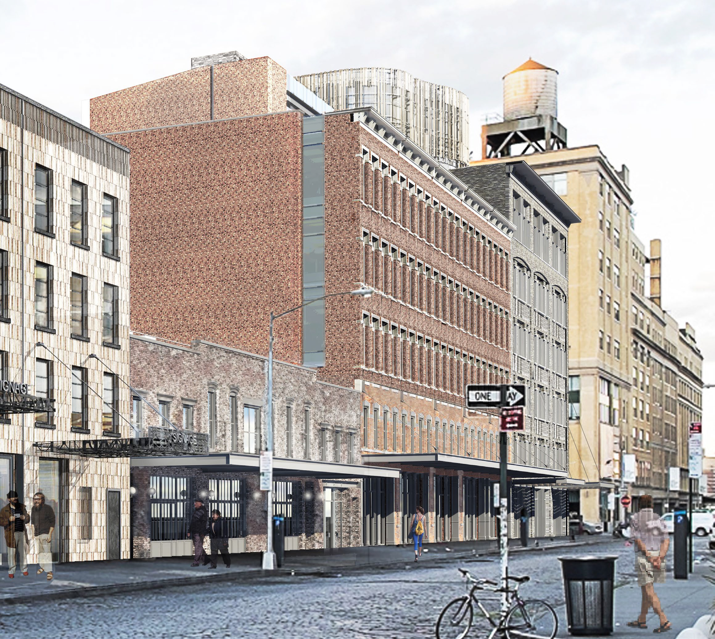Previous proposal for 60-68 Gansevoort Street