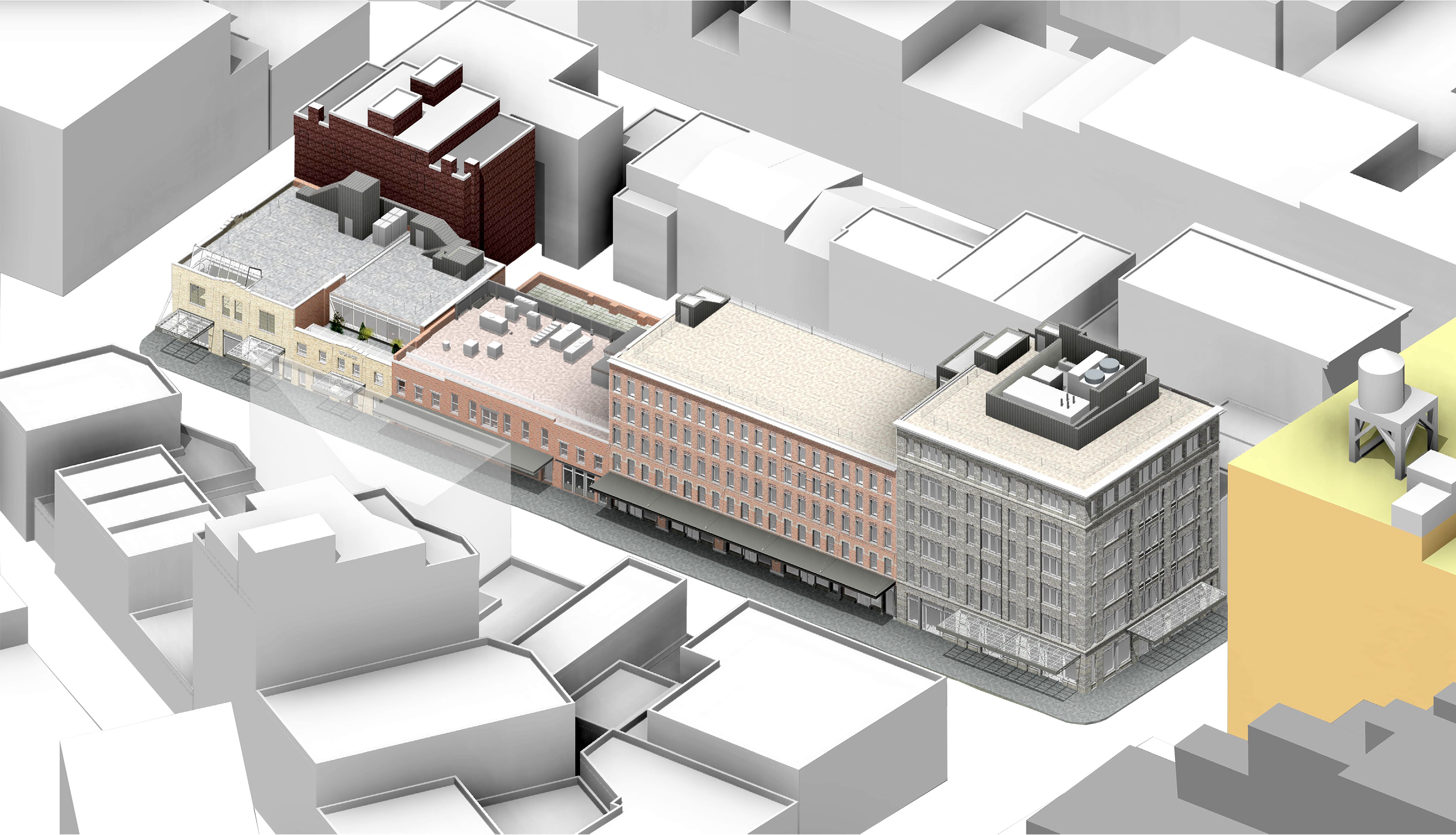 46-74 Gansevoort Street, current proposal