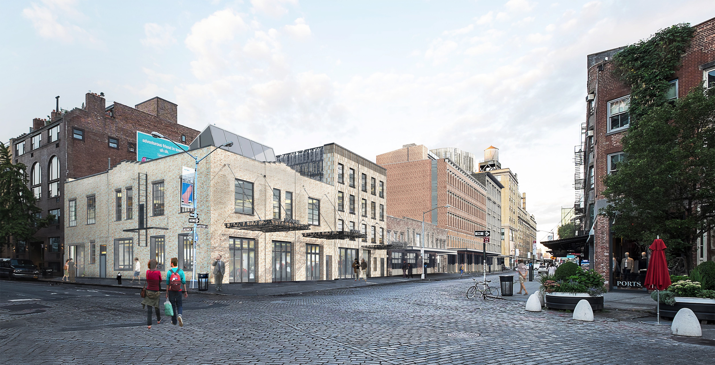 46-74 Gansevoort Street, previous proposal