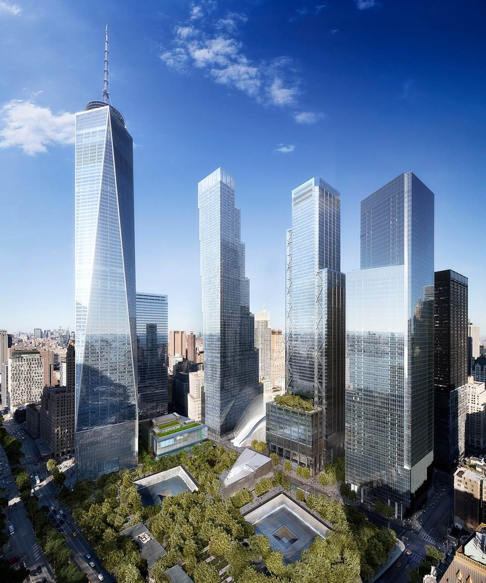 Rendering of the World Trade Center Performing Arts Center