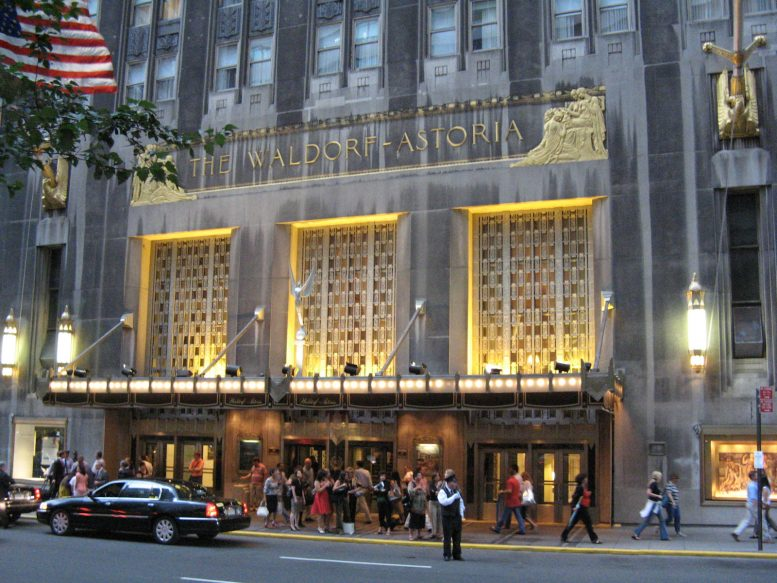 Plans Being Finalized For Partial Inium Conversion Of Waldorf Astoria Hotel