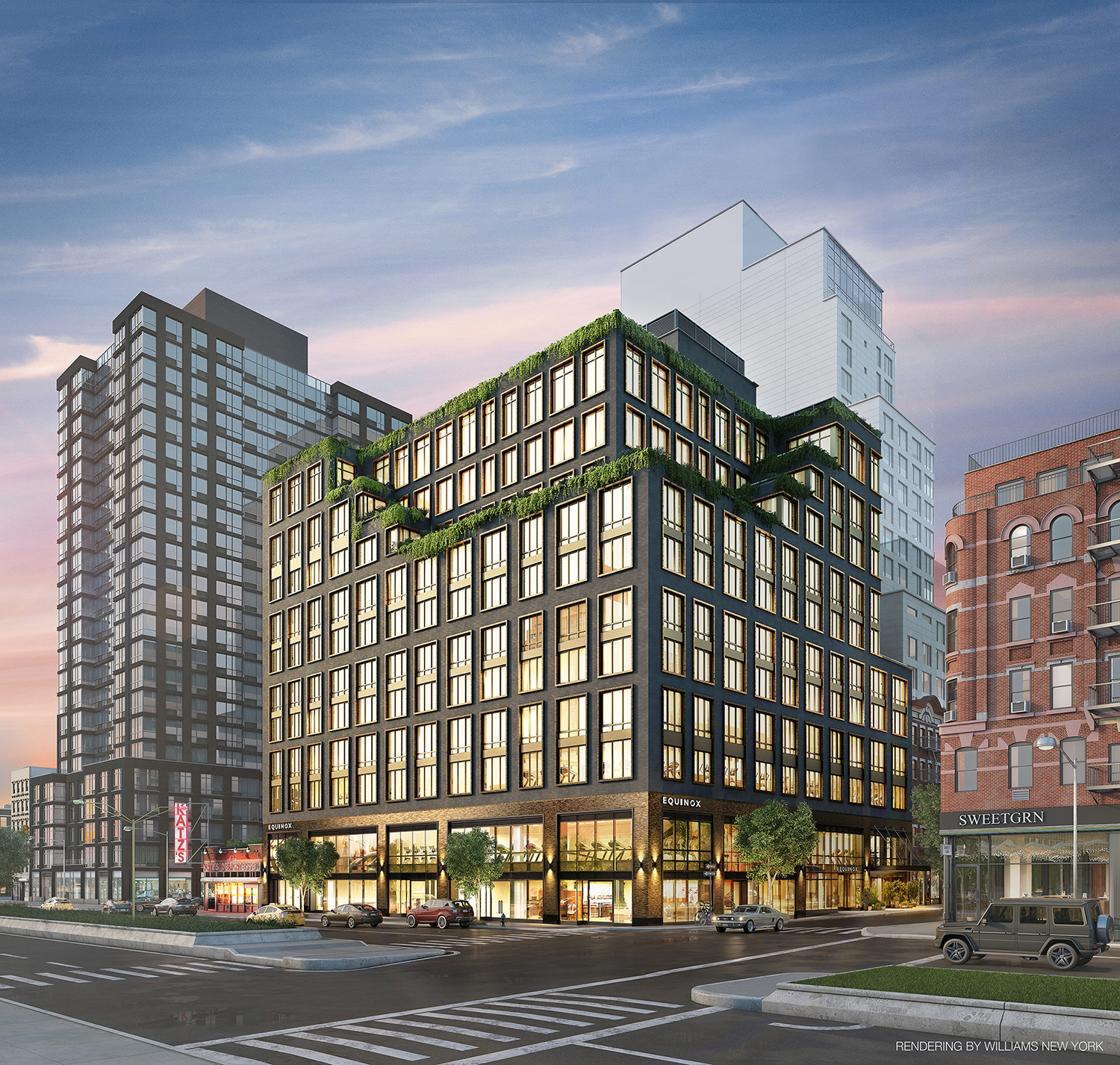 Rendering of 196 Orchard Street. Credit: Williams New York