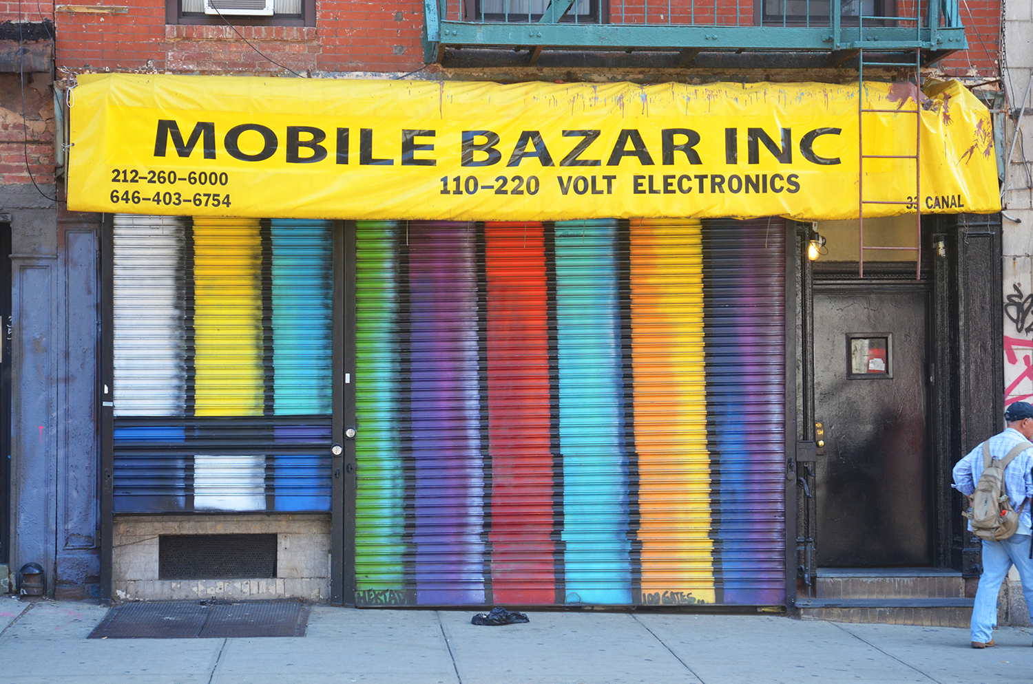 100 Gates - Mobile Bazar at 33 Canal Street by Hektad