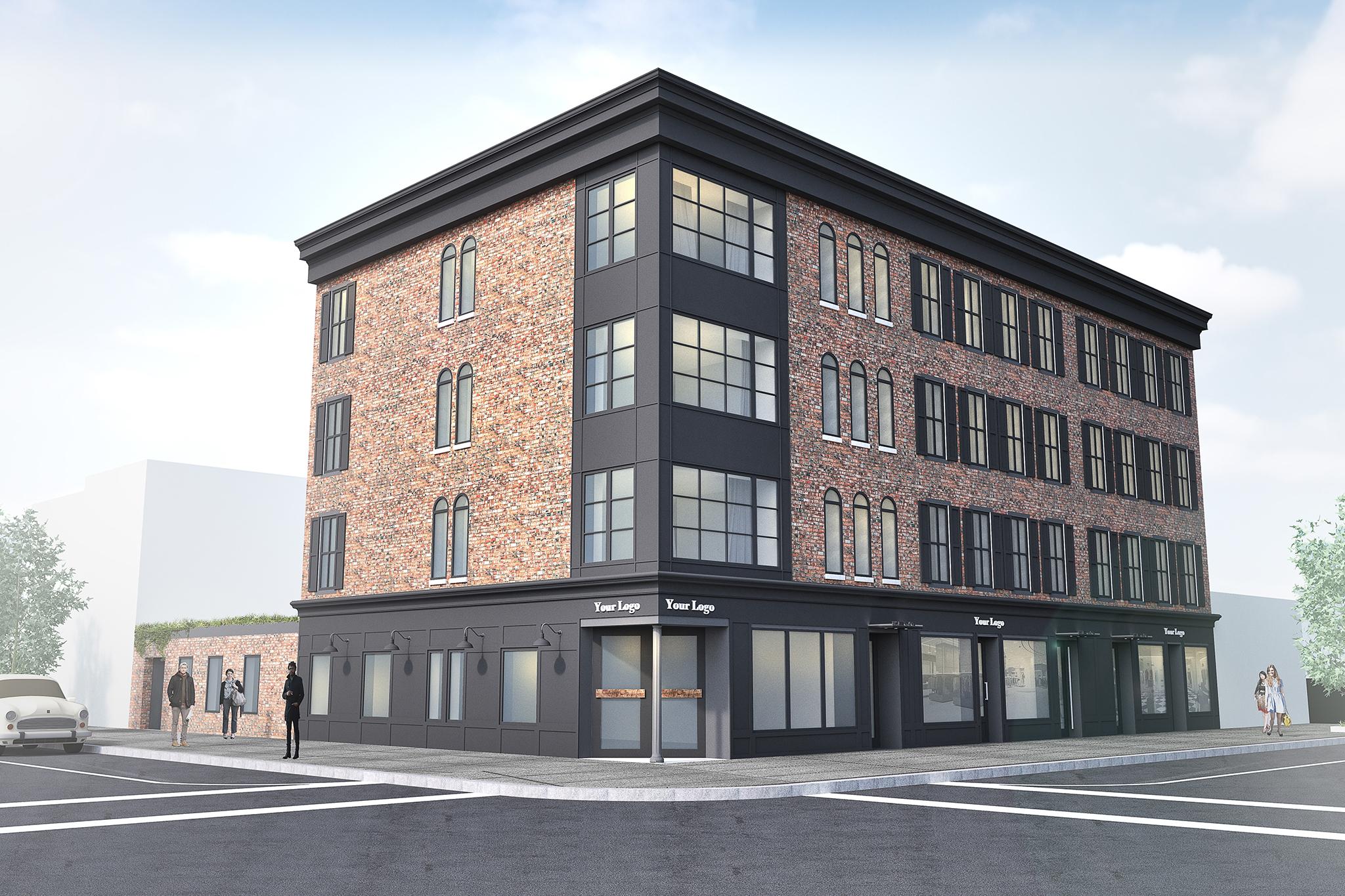 119-123 Kent Avenue, rendering by Input Creative Studio