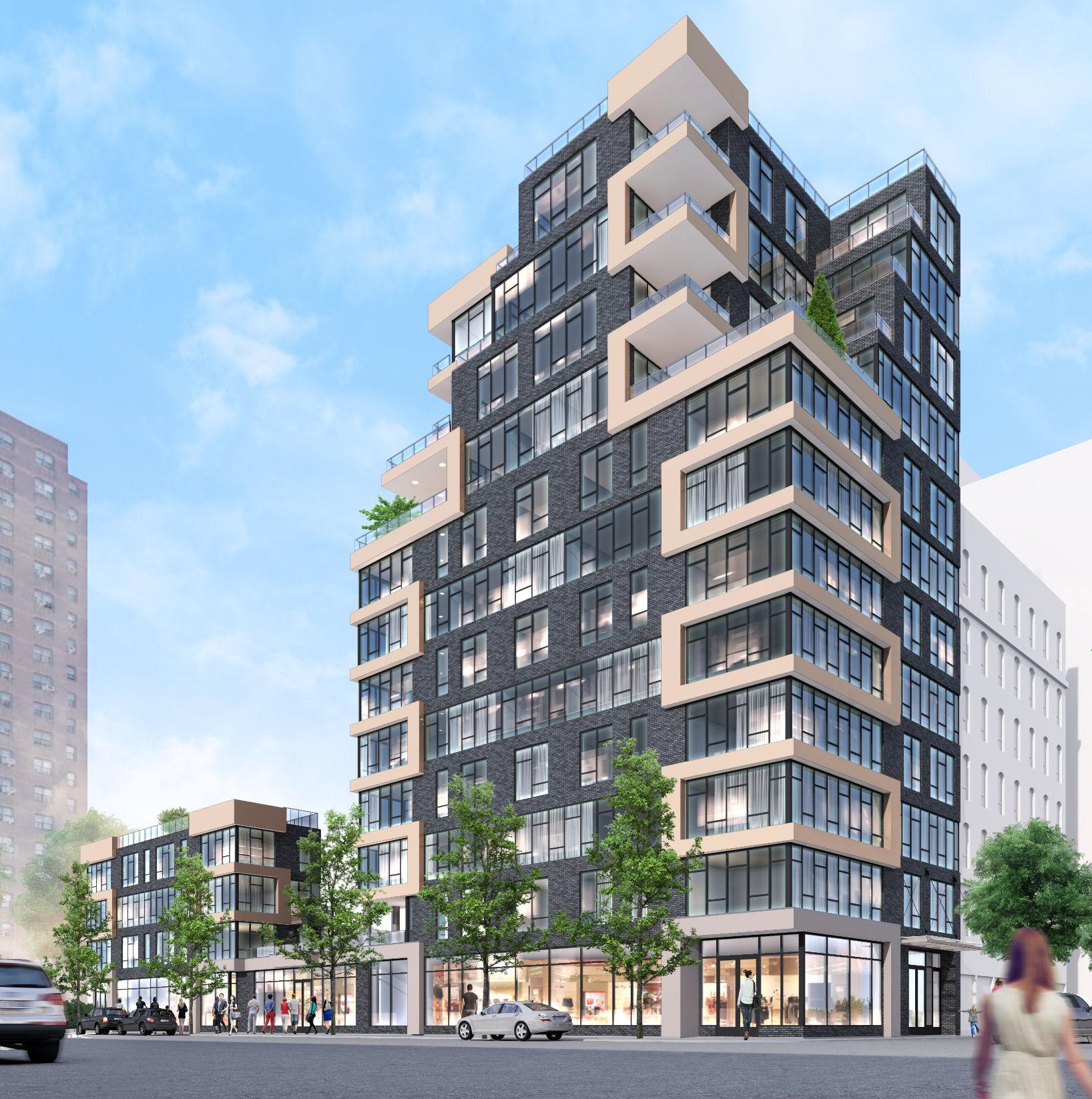 1516 Park Avenue, rendering by Karl Fischer Architect