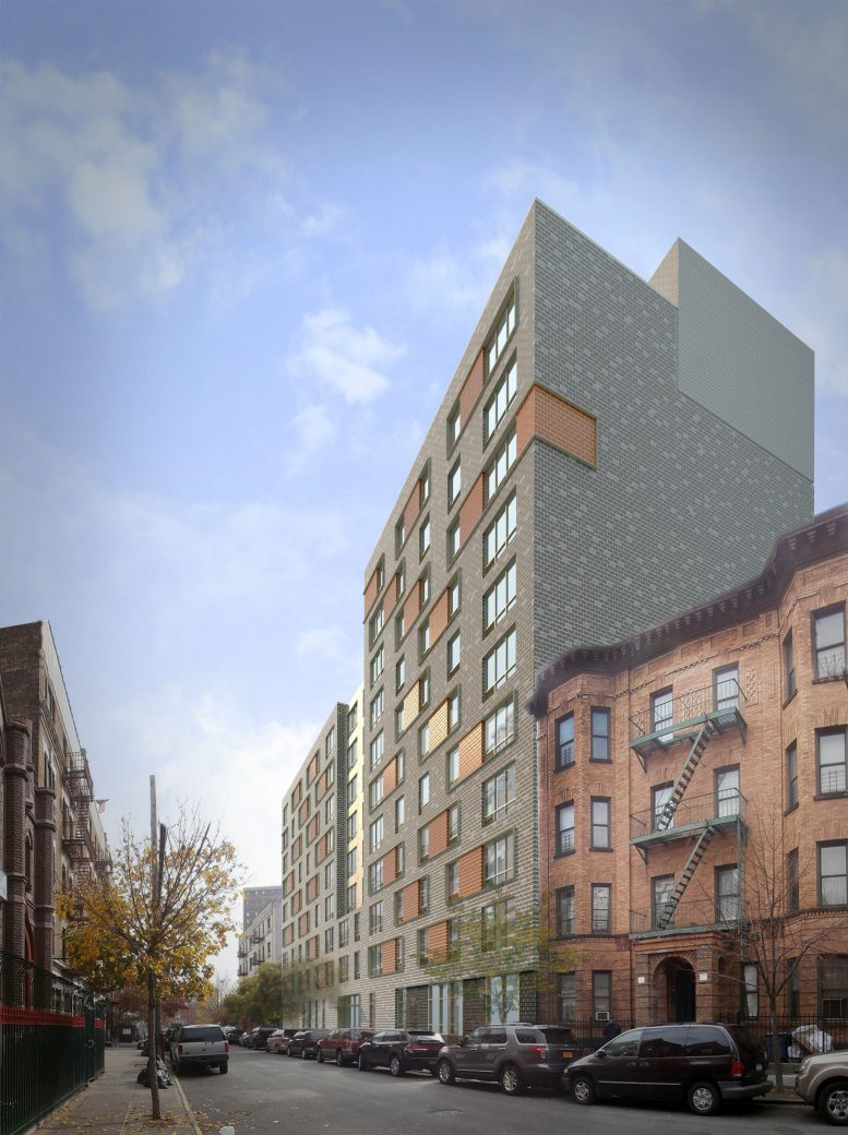 294 East 162nd Street, rendering by Dattner Architects