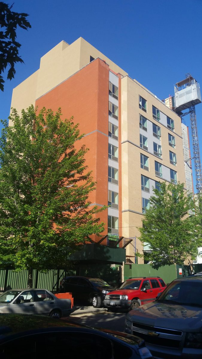 Bronx Supportive Housing Nears The Finish Line At 316 East 162nd Street New York Yimby