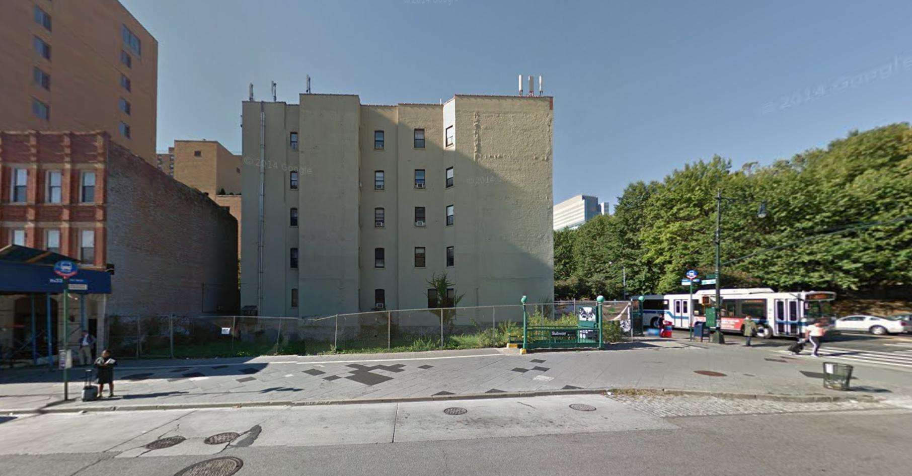 320 West 135th Street, image via Google Maps