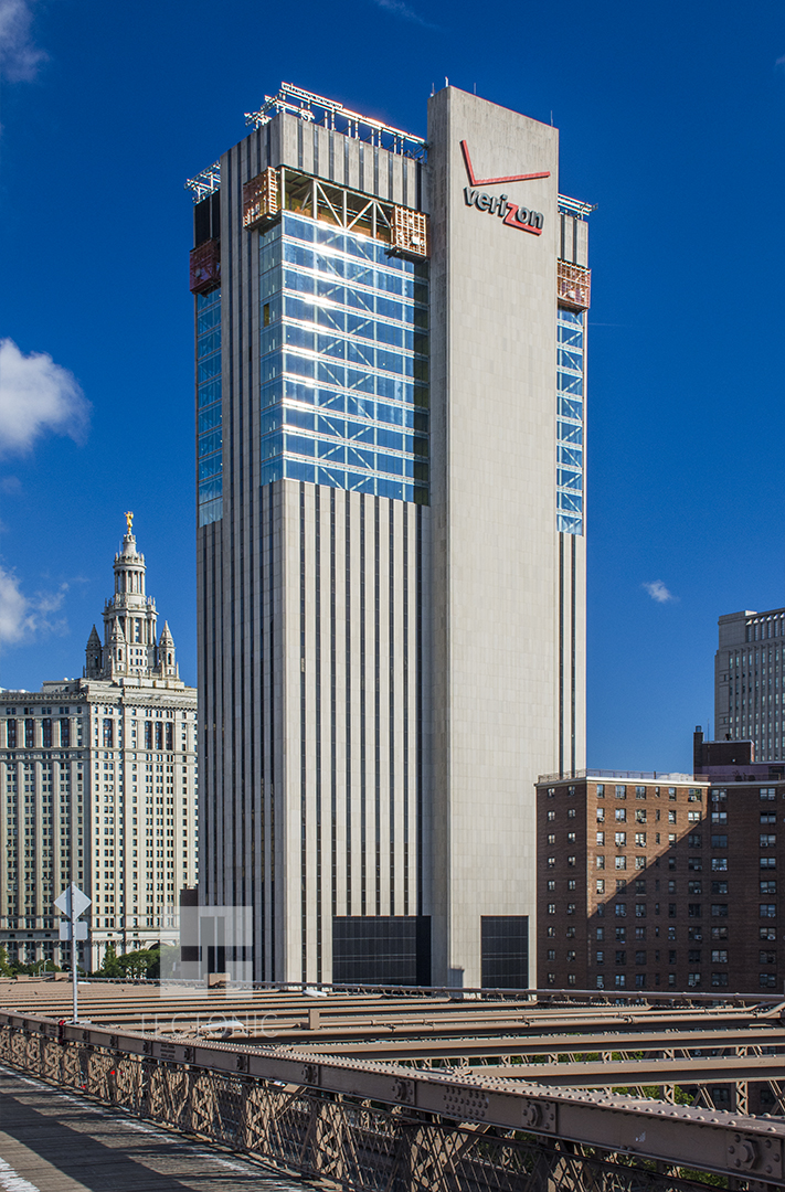 Former Verizon Building At 375 Pearl Street Gets A New