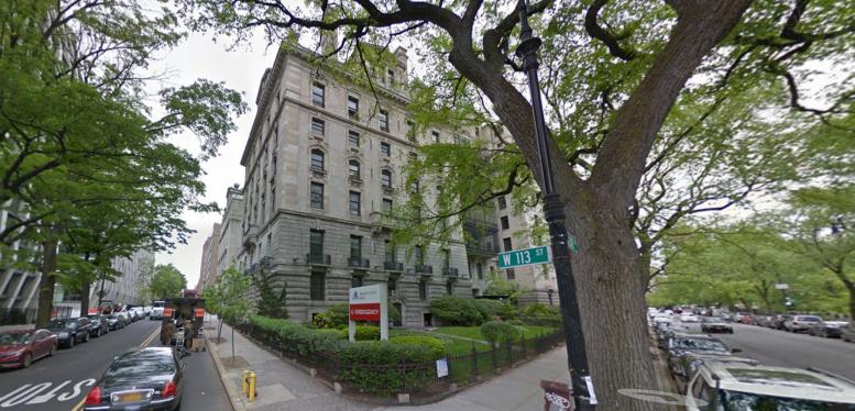 401 West 113th Street, image via Google Maps