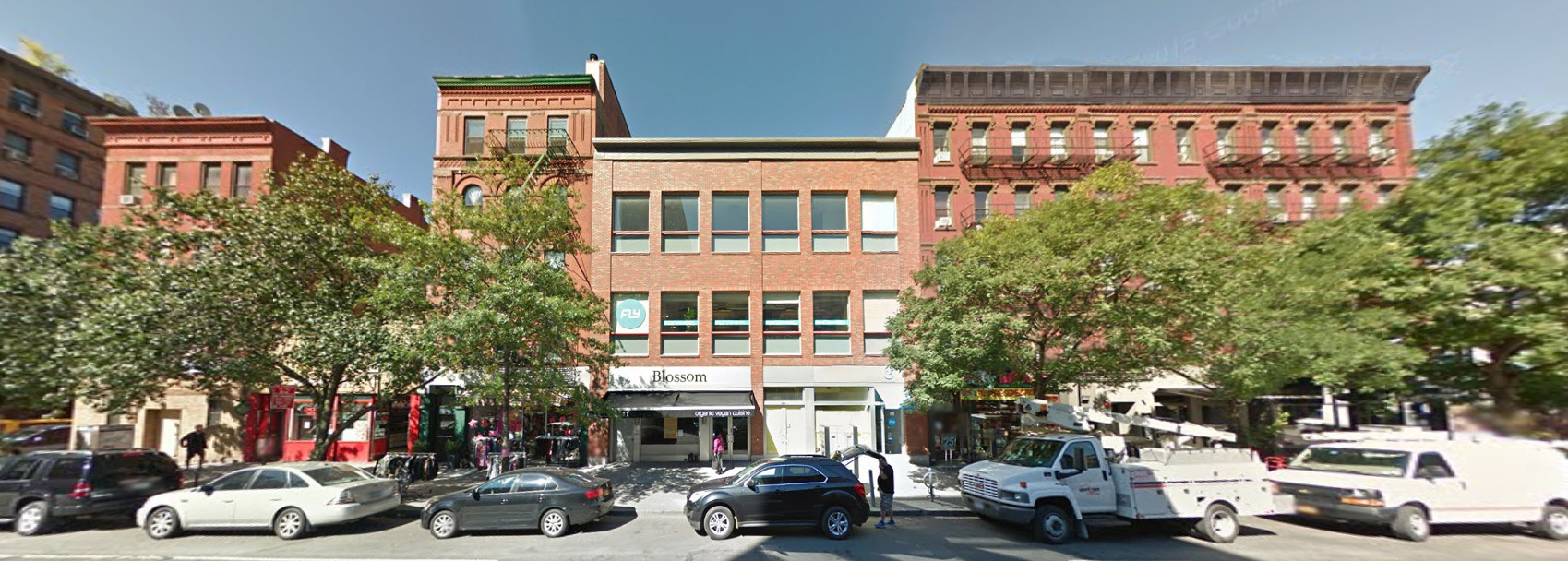 Existing conditions at 466-468 Columbus Avenue