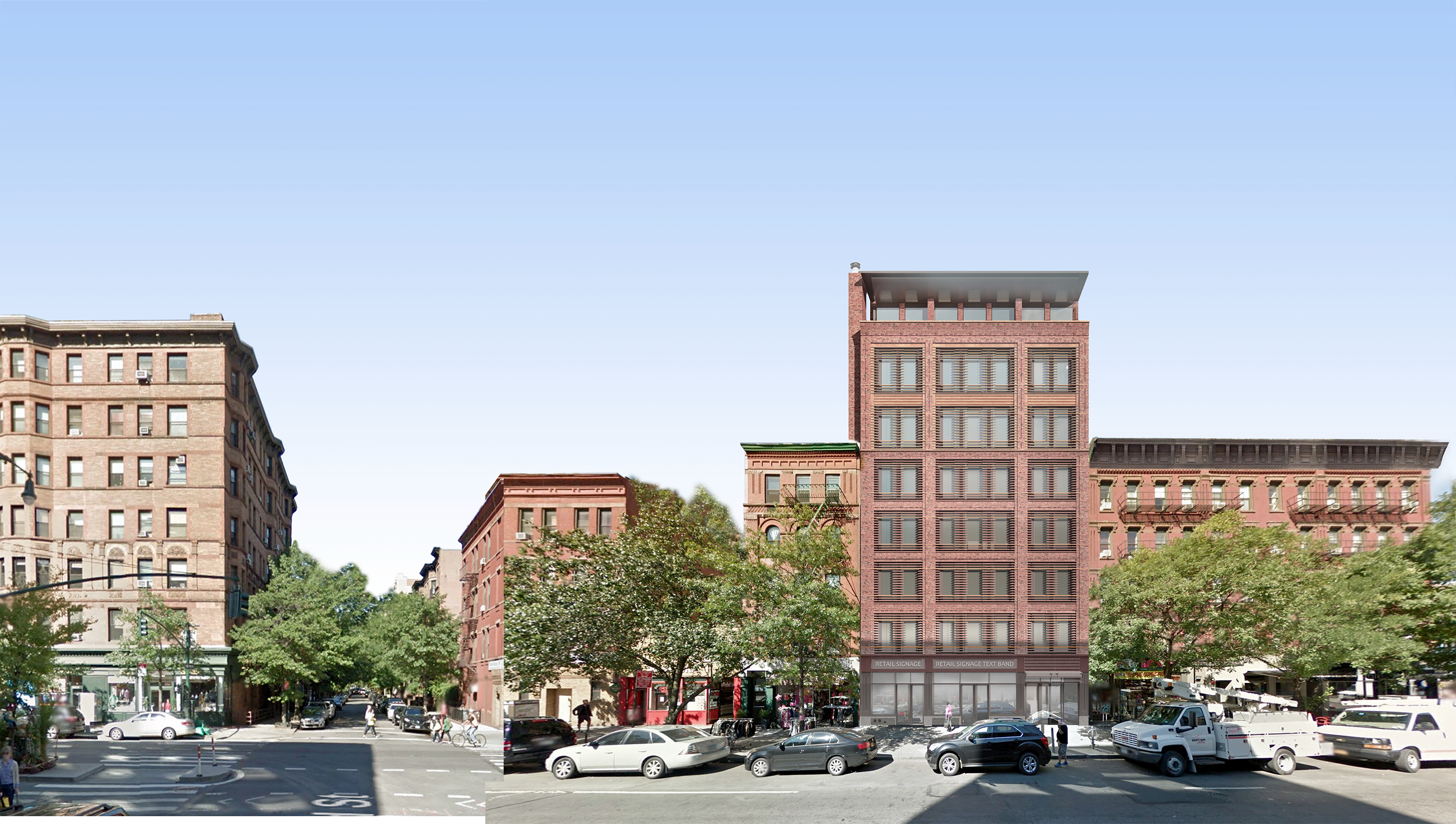 Rendering of proposal for 466-468 Columbus Avenue
