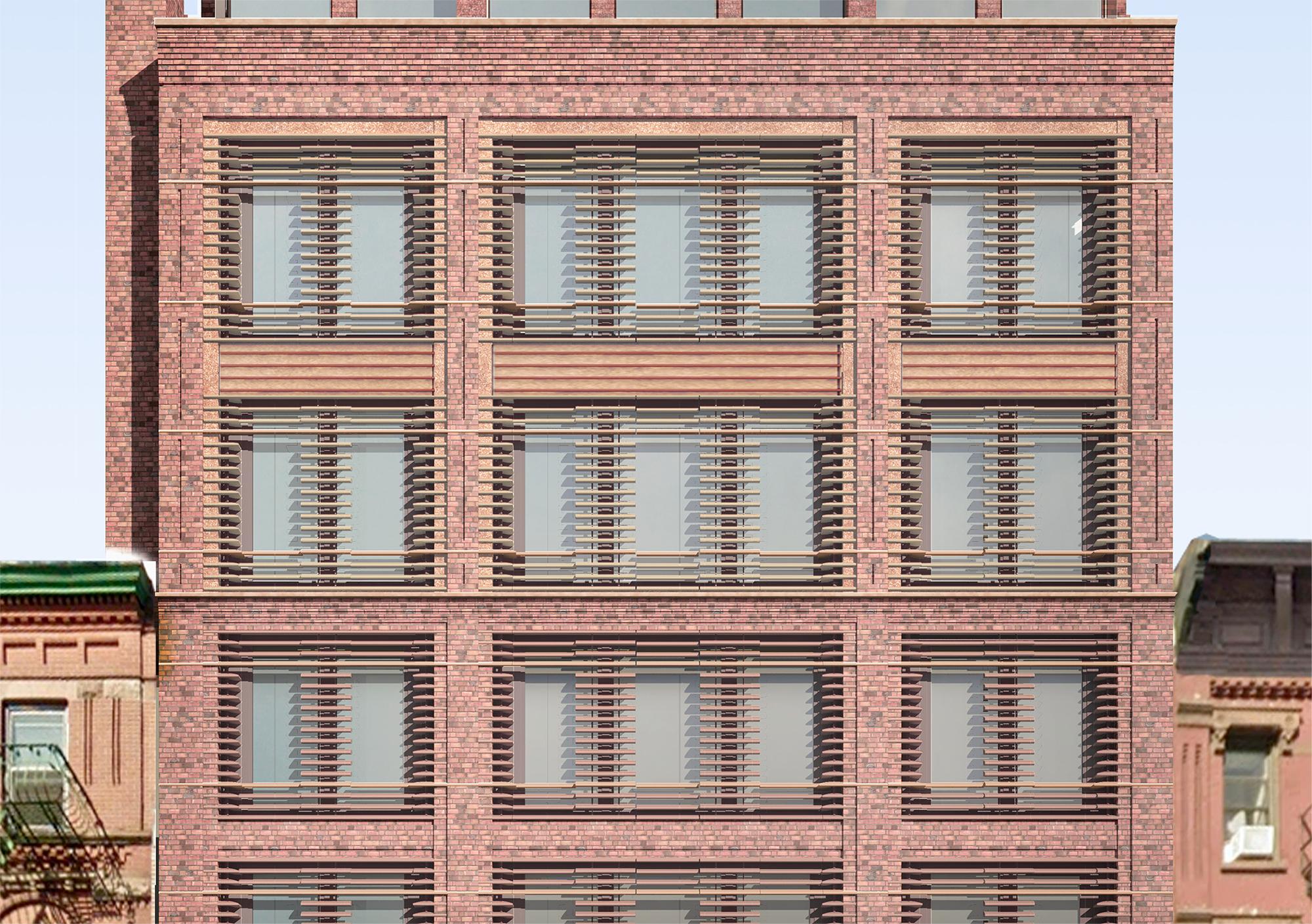 Rendering of upper residential floors of 466-468 Columbus Avenue