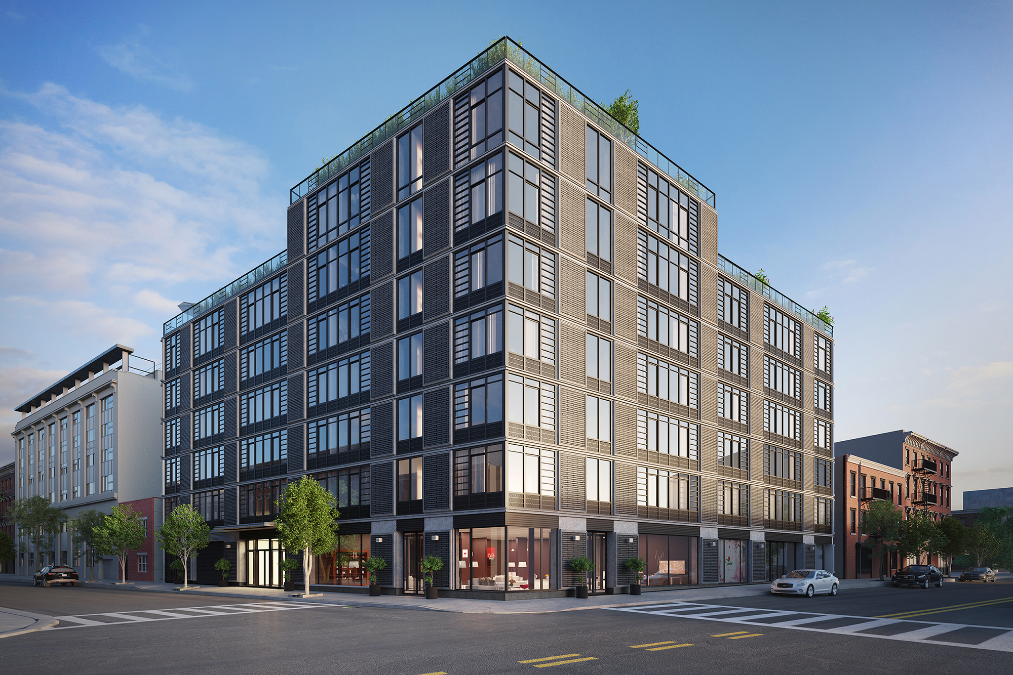 Rendering of Waverly Brooklyn at 500 Waverly Avenue. Credit: Millarc