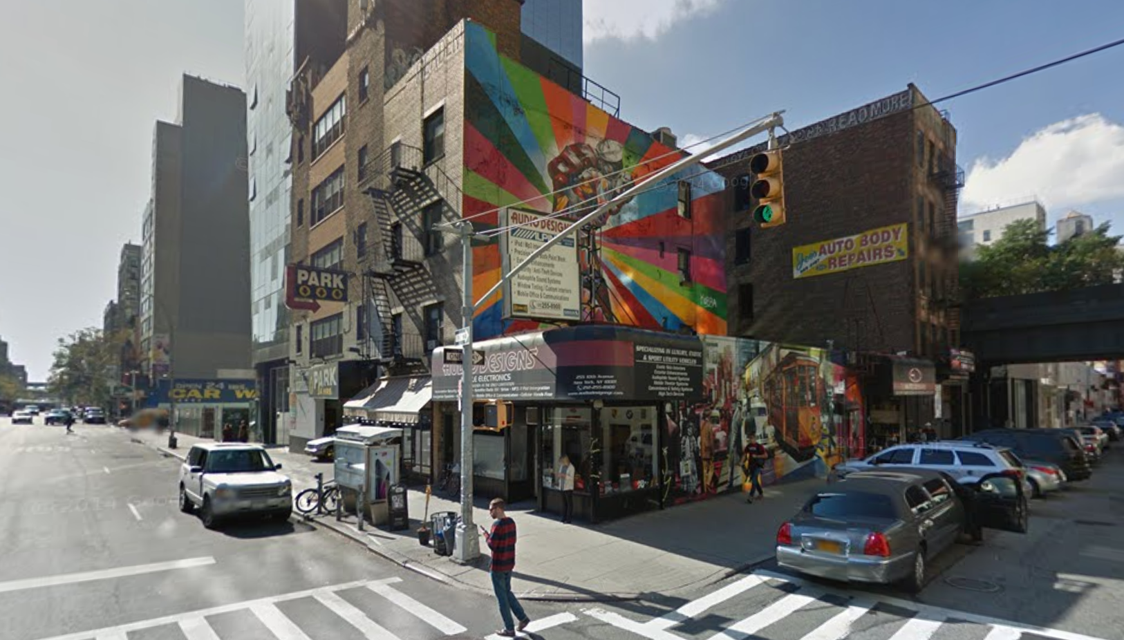 500 West 25th Street and 253 10th Avenue in 2014, image via Google Maps
