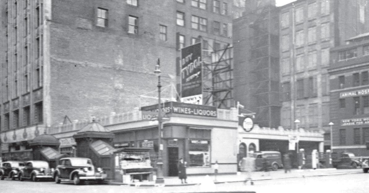 59 Bleecker Street, 1940. Via NYPL