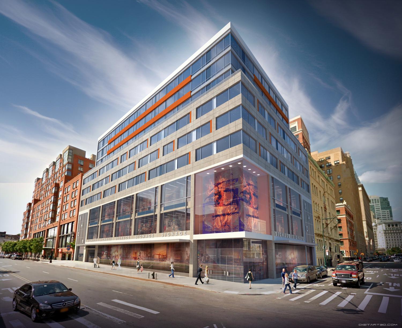 239 Atlantic Avenue/66 Boerum Place, rendering via Midtown Equities