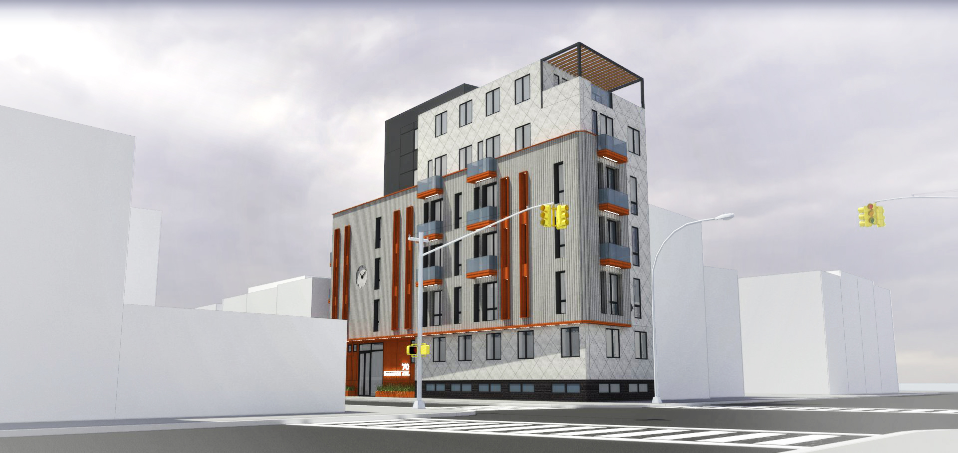70 Bushwick Avenue, rendering by Input Creative Studio