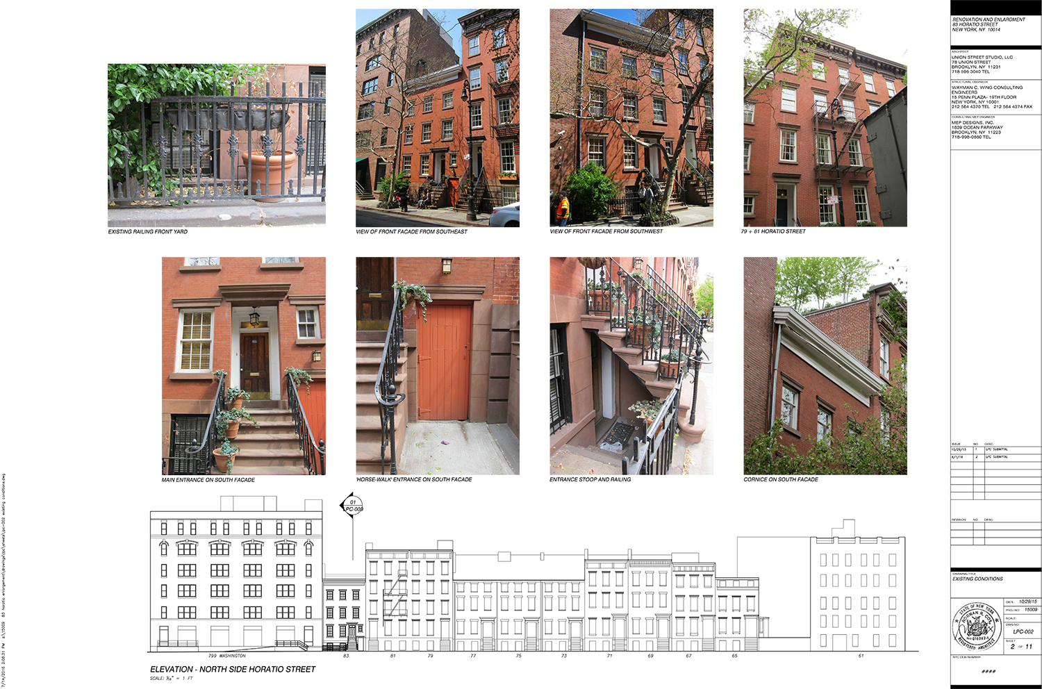 home design fails architects quinta monroy housing iquique proposed expansion of home at 83 horatio street west village lpc 011 existing front facade windows