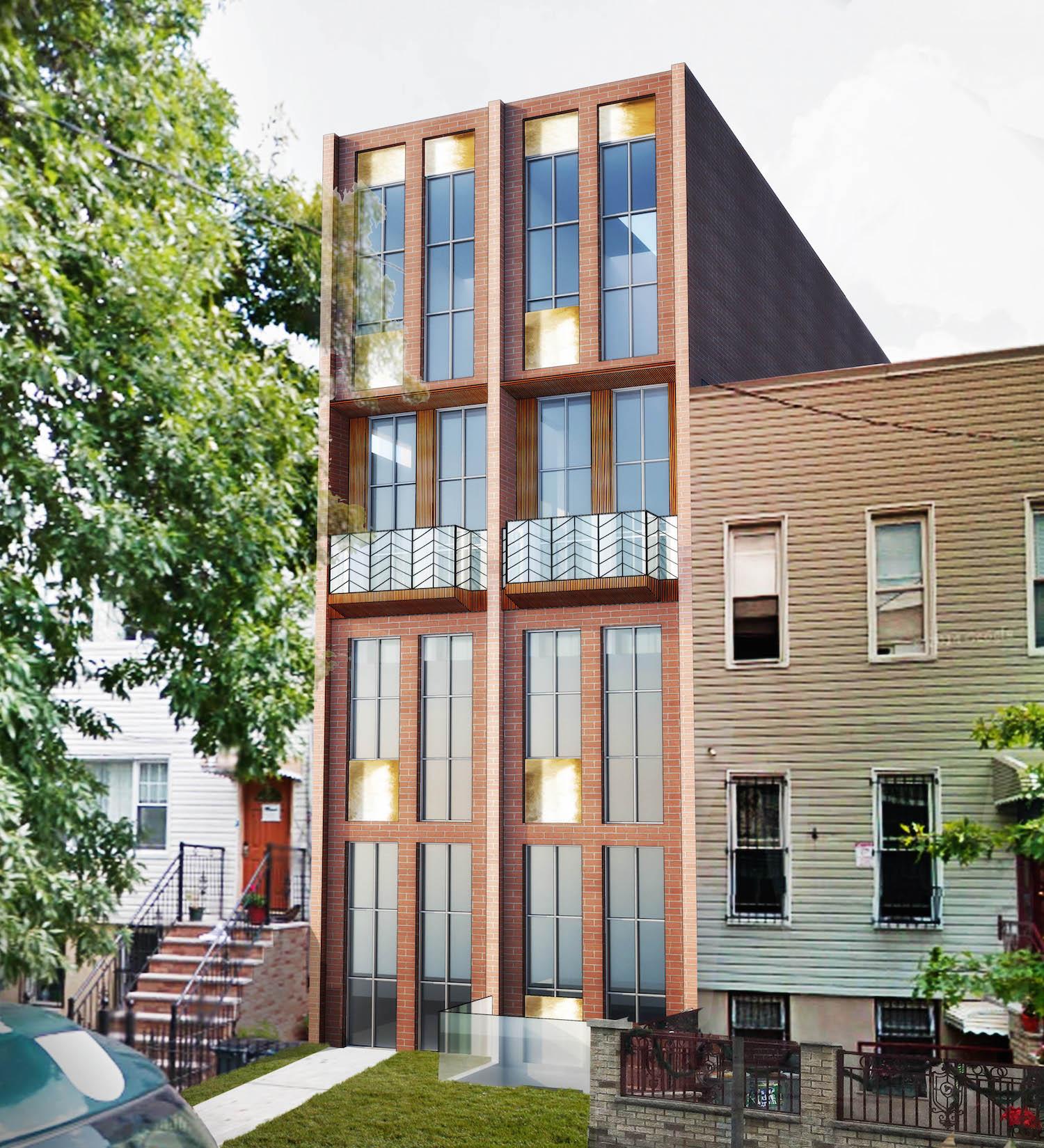 452 Harman Street, rendering by Opera Studio Architecture